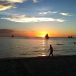 Living in this Moment: Cherishing a Beautiful Sunset