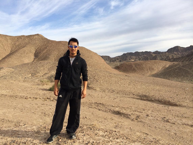 alf dunhuang desert