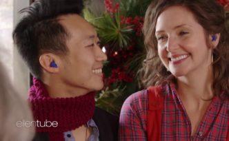 Ellen's Holiday Headphones